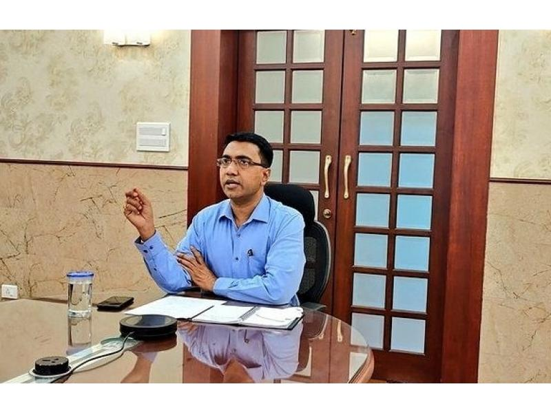 Not 100%, Goa has completed 102% coverage of 1st vaccine jab: Sawant